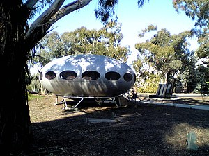 University of Canberra - Futuro House at University of Canberra, Australia