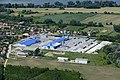 Gönyű, a Leier gyár légi fotón.jpg