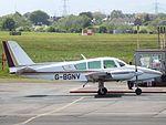 G-BGNV Cougar GA7 (27061567402).jpg