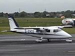 G-ENCE Partenavia P68B Exeter Flights Ltd (35573334105).jpg