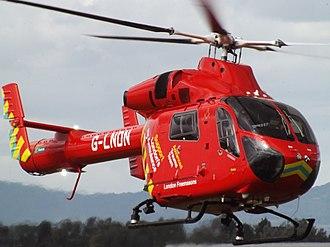 London's Air Ambulance - G-LNDN, the second MD 902