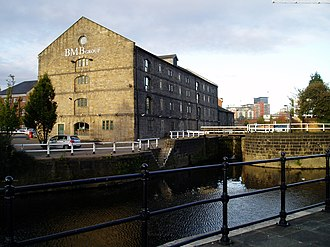Granary Buildings, Leeds - Image: GB and Lock