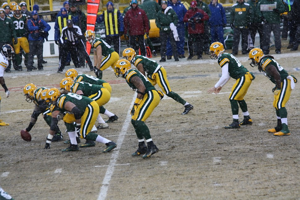 GB offense lined up Dec 2013
