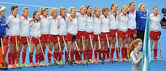 Great Britain women's national field hockey team - The team in 2016