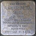 GE Stolperstein - Alice Brunetta Stein, Buerer Str. 8.jpg