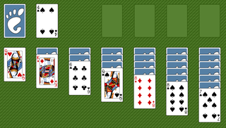 Klondike (solitaire) solitaire card game