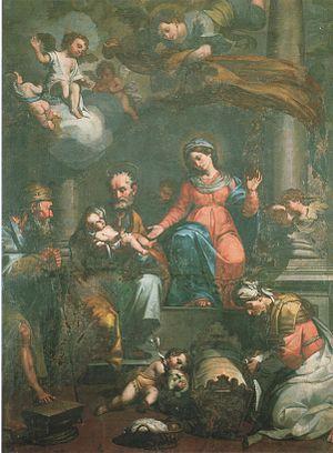 Giovanni Paolo Cavagna - Holy Family.