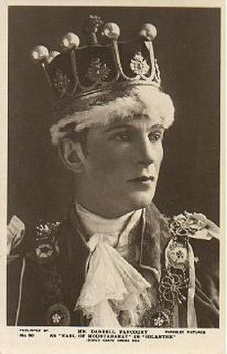 Darrell Fancourt - Fancourt as Lord Mountararat in Iolanthe