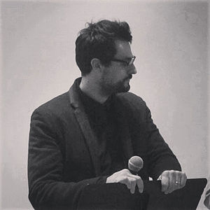 Gabriele Tinti (writer) - Gabriele Tinti at Queens Museum of Art in 2013