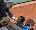 Gaël Monfils et Jean Gachassin - Roland-Garros 2013 - 001.jpg