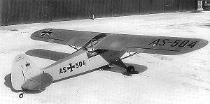 Landsberg-Lech Air Base - German Air Force Piper L-18C - 1956