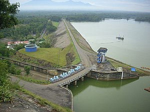 Wonogiri Regency - Gajah Mungkur Reservoir Dam