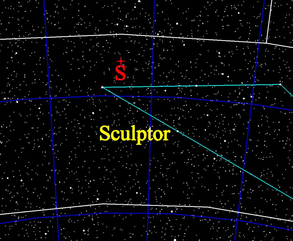 Galactic south pole