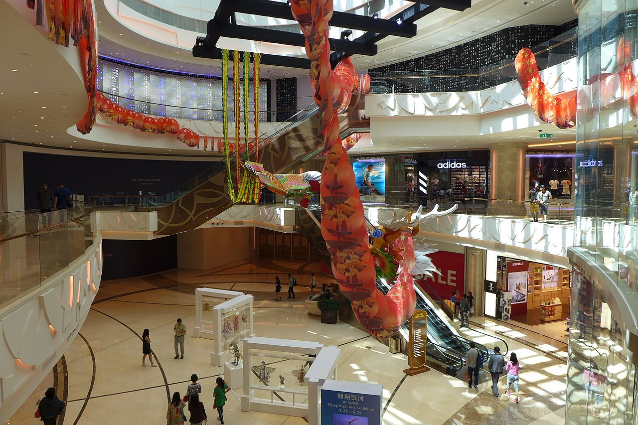 Galaxy Macau The Promenade Shops
