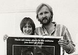The producing team behind Aliens, James Cameron and Gale Ann Hurd.