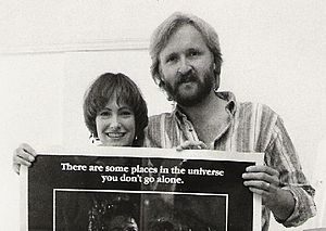 James Cameron - The producing team behind Aliens, James Cameron and Gale Ann Hurd