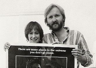 Aliens (film) - The producing team behind Aliens, James Cameron and Gale Anne Hurd