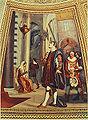 Galileo osserva la lampada nel Duomo di Pisa, affresco di Luigi Sabatelli, Tribuna di Galileo, Firenze..jpg