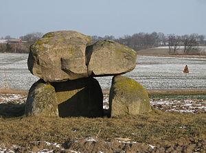 Gantofta - Ancient dolmen in Gantofta