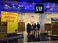 Gap store in the Westfield Sydney closing down sale December 2017.jpg