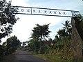 Gapura masuk Desa Pagak, Kec. Pagak, Kab. Malang (ini mengarah ke selatan) - panoramio.jpg