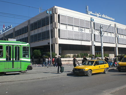 Tunis railway station Gare Tunis.jpg