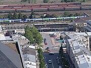 Gare de Laon - hauteur