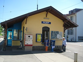 Museumsbahn Blonay–Chamby