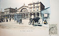 Gare de l'Est, Paris, middle of the 19th century, on postcard.jpg