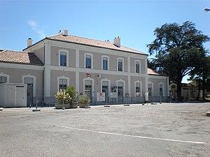 Aubenas - The train station of Aubenas