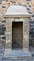 Garita a l'entrada del castell de la santa Bàrbara, Alacant.JPG