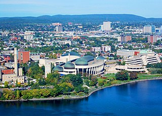 Gatineau City in Quebec, Canada