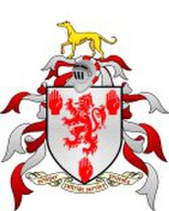 Roche MacGeoghegan - Geoghegan Family Coat of Arms