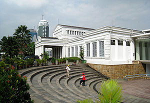 National Museum of Indonesia - Gedung Gajah, the old wing of National Museum.
