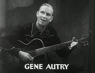 Guns and Guitars - Gene Autry, 1936