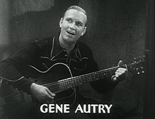 Gene Autry Gene Autry in Oh Susanna