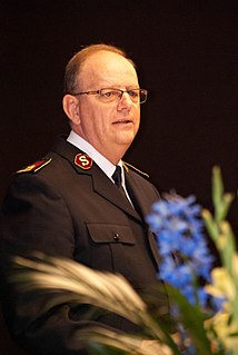 André Cox CEO and 20th General of The Salvation Army