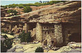 General view of Manitou Cliff Dwellings in Phantom Cliff Canon, Manitou Springs, Colorado. (7725176810).jpg