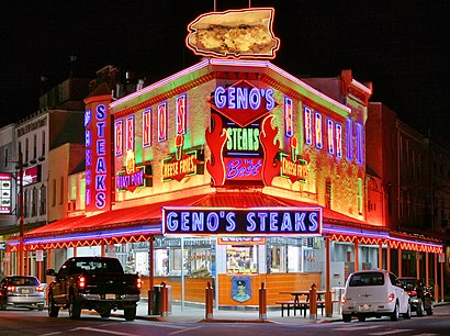 How to get to Geno's Steaks with public transit - About the place