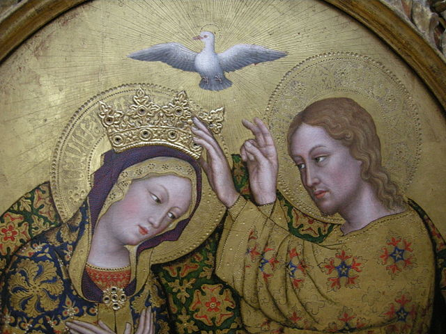 Le couronnement de la Vierge, de Gentile da fabriano, photo Sailko