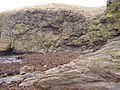 Geological fault at Niarbyl - geograph.org.uk - 107854.jpg