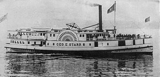 "Joshua Green (businessman) - ''George E. Starr''.  According to Green, ""this was a faithful little boat""."