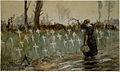 George Edmund Butler - A roadside cemetery near Neuve Eglise.jpeg