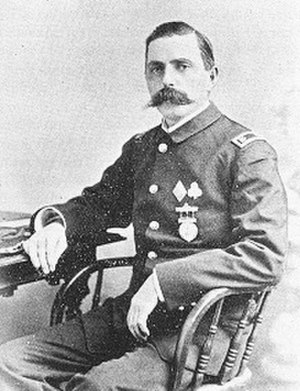 George E. Albee - Albee while serving as Major and Brigade Inspector of the Connecticut National Guard, 1892.