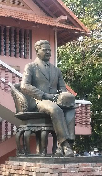 National Museum of Cambodia - George Groslier, the founder of the museum.