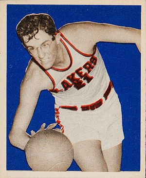 George Mikan - 1948 Bowman card