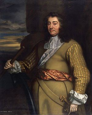 George Monck, 1st Duke of Albemarle - George Monck, 1st Duke of Albemarle  (from Sir Peter Lely's studio Flagmen of Lowestoft series, circa 1665–66)