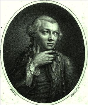 George Smith (artist) - Portrait of George Smith (engraving after William Pether).