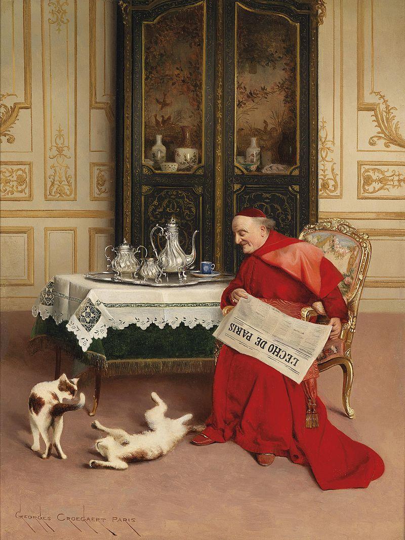 Georges Groegaert Katzenspiele.jpg