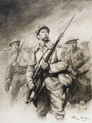 Jules Isaac - Image: Georges Scott, Les soldats de Foch